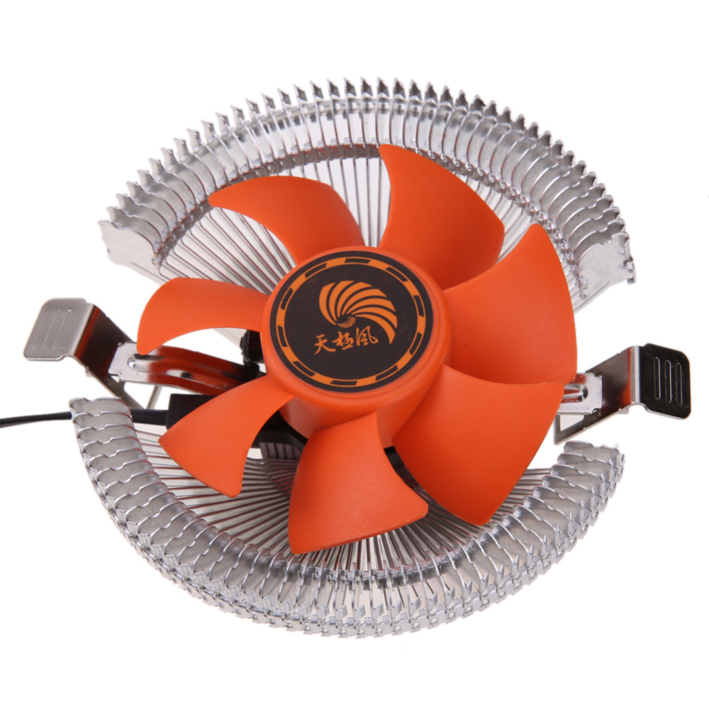 High Quality PC CPU Cooler Cooling Fan Heatsink for Intel LGA775 1155 AMD AM2 AM3 754 Wholesale Price