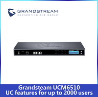 Best Price Grandstream UCM6510 IP PBX System up to 2000 SIP IVR in stock