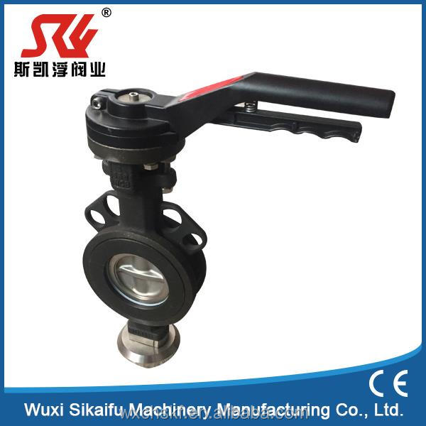 Top quality water pipe butterfly valve trade assurance