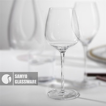 SAMYO manufacturer hot sale cheap crystal wine glassware
