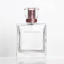 good quality 100ml vintage perfume bottle with transparent surlyn cap