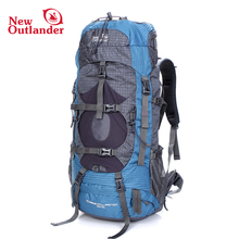 Custom high quality wholesale price 50l nylon sport camping Backpack manufactures outdoor waterproof bag