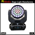 Competative 37*10W RGBW 4in1 Led Wash Moving Head Light fro Stage/ Disco/Party