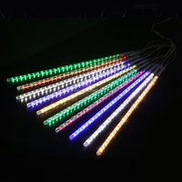 30CM 50CM 80CM 100CM LED Meteor Light DMX RGB snowfall light meteor tube Lamp led meteor shower tree shower rain tube
