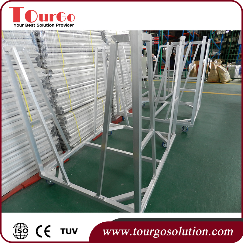 Tourgo Galvanized Crowd Control Barriers / Crowd Control Safety