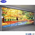 With Samsung 55 inch lcd panel DID splicing advertising video wall display best supplier in Shenzhen