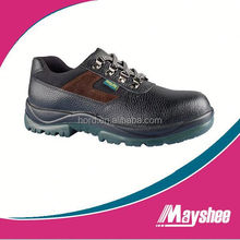 leather new steel toe cap safety shoe