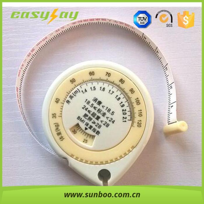high precision easy control BMI tape measure, wholesale measuring tape
