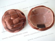 fashion 350#synthetic hair bun