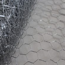 Recycled hexagonal wire mesh/stucco netting for teeth protect