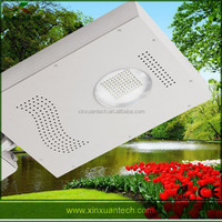 Hot sale aluminum strong enough integrated solar led street light for philipines
