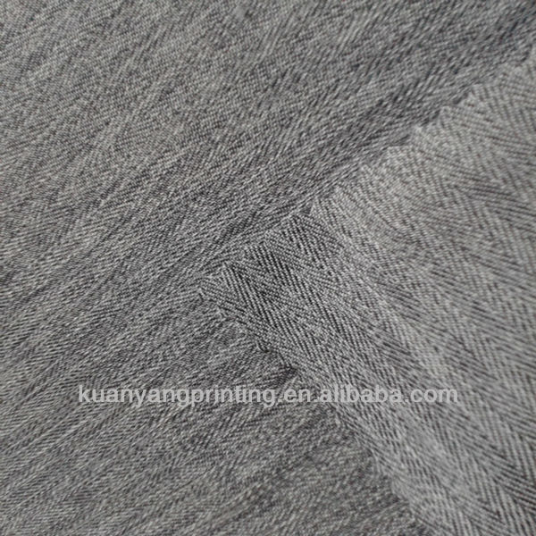 dobby poly cationic grey dyeing fabric textile shirt grey fabric