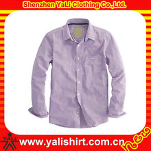 button down long sleeve shirts,Colored custom-made long sleeve shirt for men