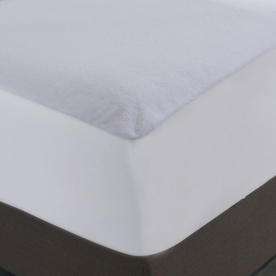 Polyester Coral Fleece Hypoallergenic Fitted Waterproof Mattress Cover - Jozy Mattress | Jozy.net