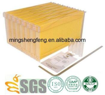 Plastic bee hives or honey flow bee hive frame from China suppliers