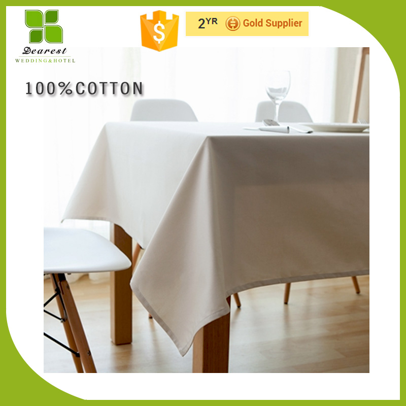 Factory price heat transfer printing PVC tablecloth for dinner room