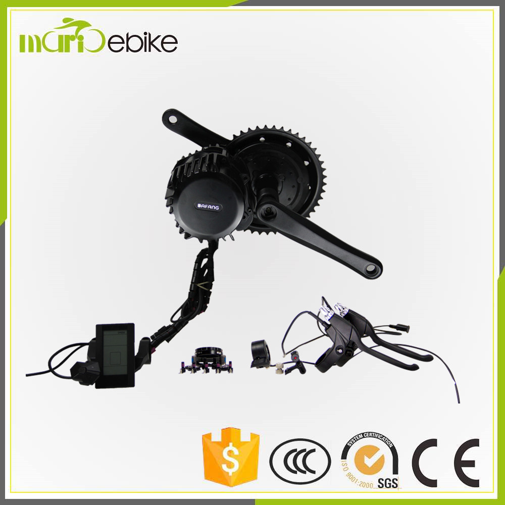 BBS01 BAFANG/8fun Mid Motor kit cheap price with integrated controller and speed sensor