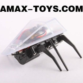 rm-445771 mini plastic insect toy High speed remote control mini stunt beetle with bright headlights