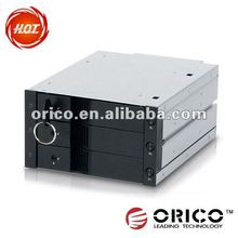 "ORICO 6023SS 3.5"" CD-ROM place 5.25 inch size internal sata hard drive hdd enclosure"