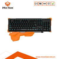 new design mechanical keyboard with armrest mechanical keyboard anti-ghosting mechanical keyboard