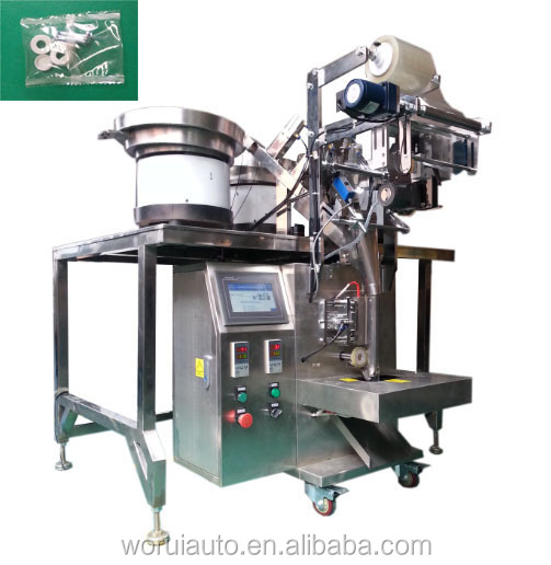 Automatic small parts Counting and Packing Machine / Zinc washer packing machine /self drilling screw packaging machine