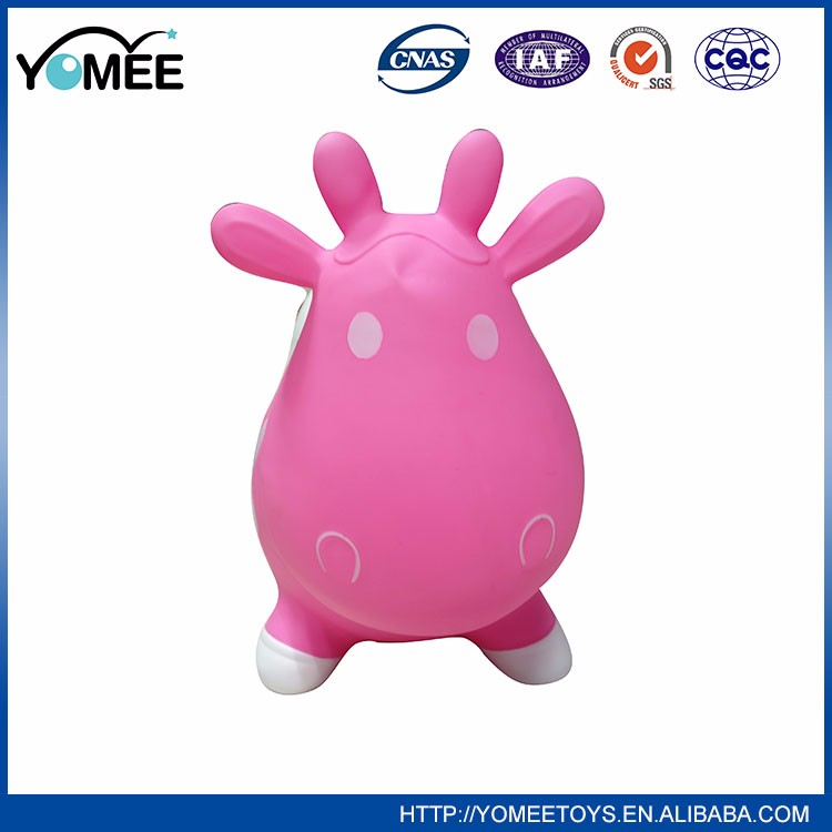 2016 Lovely Cartoon Design Plastic Ball Jumping Giant Hopper Ball