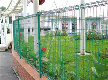 New welded metal garden fence panels Electric fence