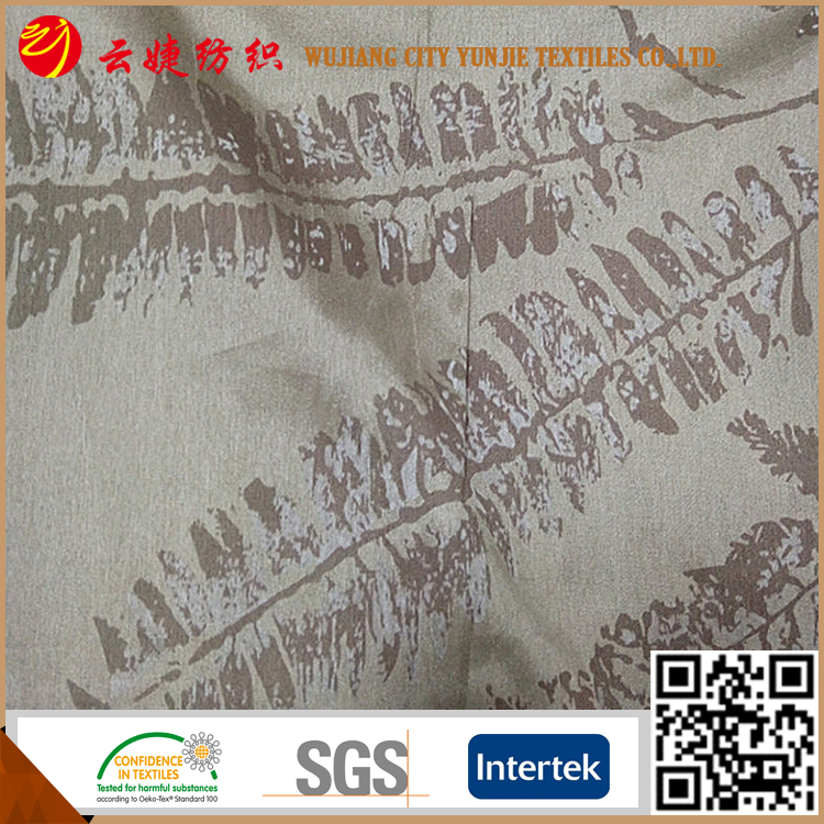 100% polyester Blackout bed sheets printed fabric