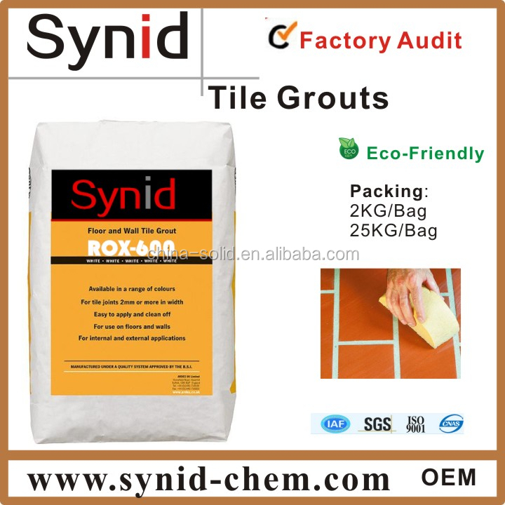 Waterproof ceramic tiles grout/filler for tile