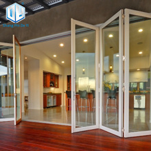 Aluminum iron folding door