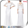 white long dress lace arabic european style evening dress patterns long sleeve bodice gothic wedding dresses