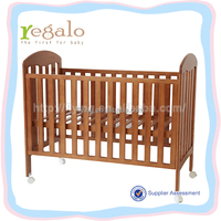 high quality hot sale baby cots designs with wheels