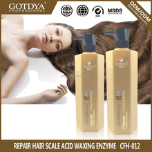 Private label best repair hair scale acid waxing enzyme conditioner