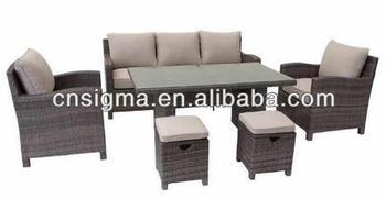 2017 Trade Assurance most popular outdoor resin wicker garden low cost sofa set furniture