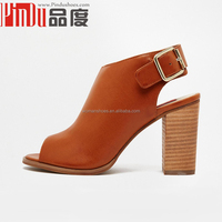 Leather women open-toed sandals in the summer High quality soft bottom shoes Women flat shoes big size slippers sandals