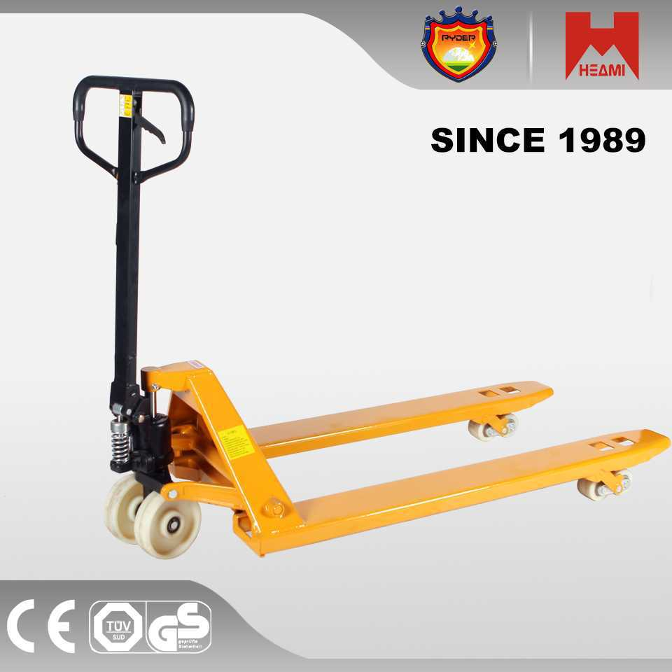 all terrain pallet truck small oil drum lifter wholesale