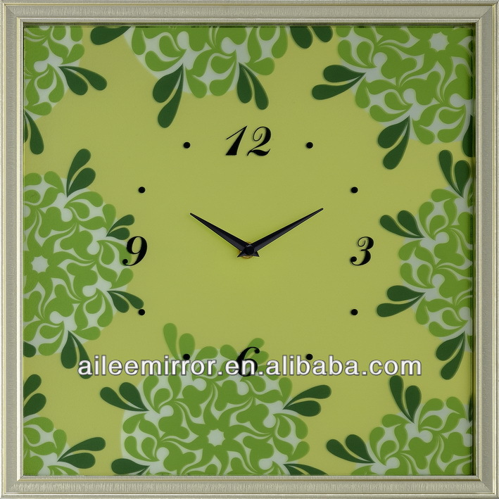 2013 high quality mechanical wall clock reverse wall clock globe clock