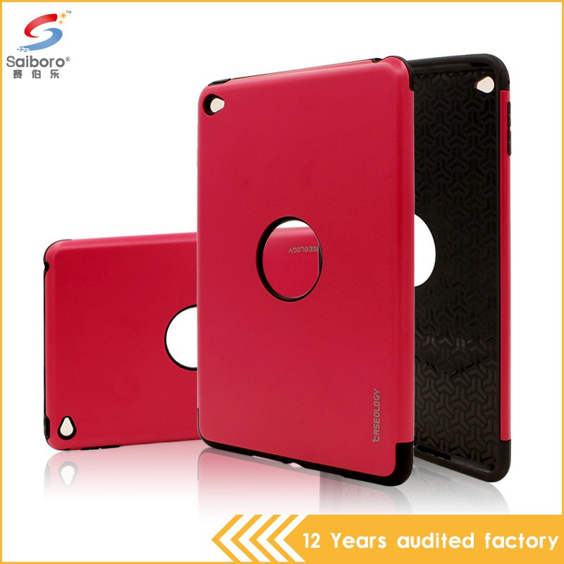 Hot sale 2016 tpu pc aluminum bumper case for ipad