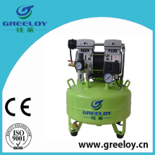 Discount price oil free mute air compressor 600W,24L for airbrush tattoo