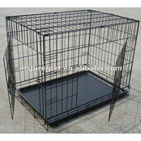 Outdoor Pet Cage with Bottom Tray