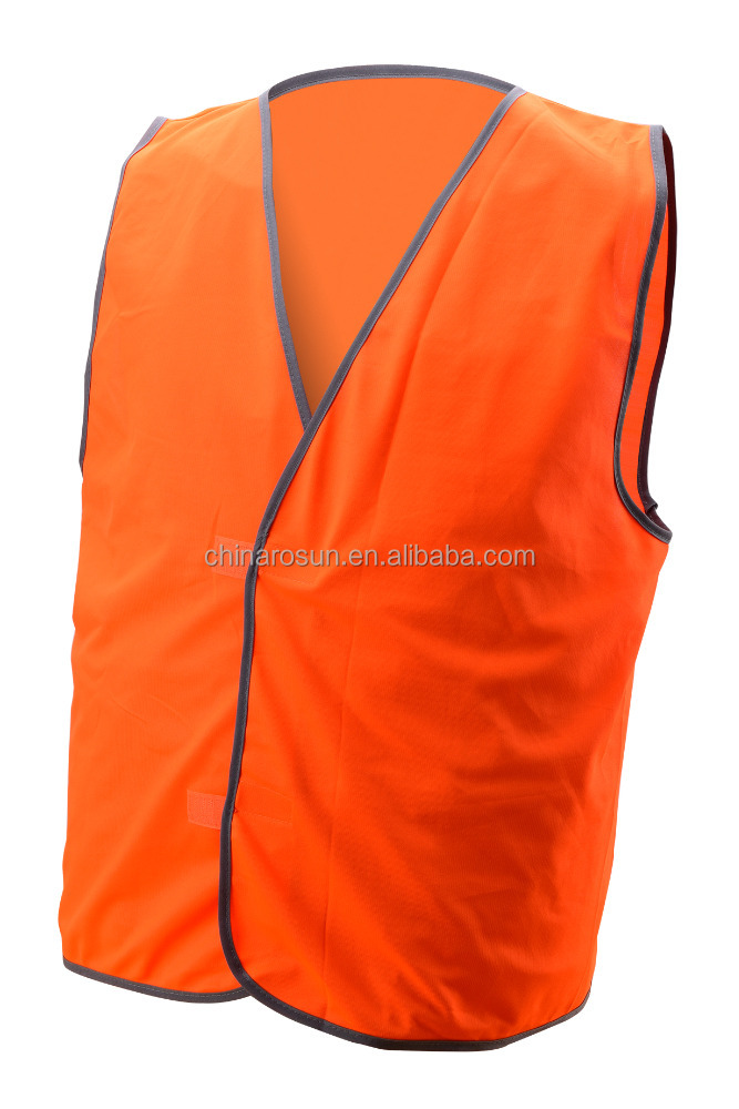 safety vest red ANSI railroad work hi vis vest traffic warning fluorescent security wear guard vest