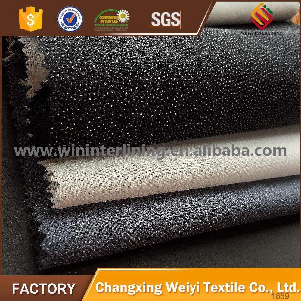 SGS proved clothes huzhou textile interlining for garment