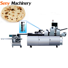 Full Automatic Commercial Bread Production Line / Pita Bread Machine