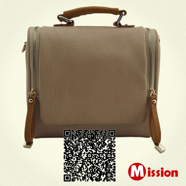 2013 high quality new style ladies fashion pu handbag