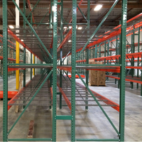 CE certificate metallic van racking,steel support bar for pallet racking ,used pallet rack beams