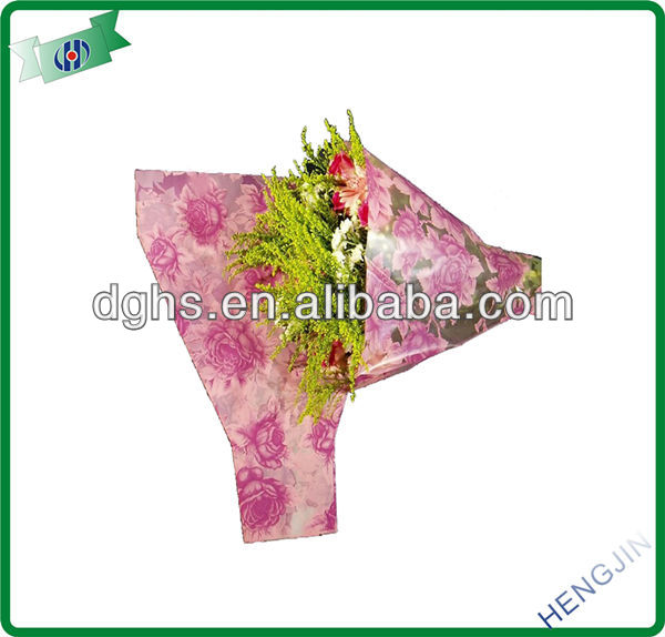 New wrapping flower bag sleeve for Valentine's Day florist made in China