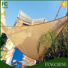 china shade sail awning/polyester sun shade sail/sun shadow sail