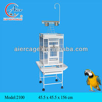 2014 Large Bird Cage Metal Cage Luxury Parrot Cage with hook