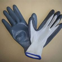 Gold supplier! nitrile led work gloves