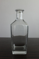 750ML WHOLESALE SCOTLAND CLEAR GLASS WHISKY BOTTLES WITH CORK